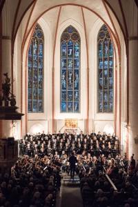 Hauptkirche St. Jacobi in Hamburg; Solisten, Kantorei St. Jacobi, Concertone Hamburg; Dirigent: Gerhard Löffler
