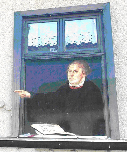 Luther am Fenster